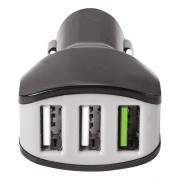Celly Chargeur voiture Celly 3 USB 4.4A noir 0517543