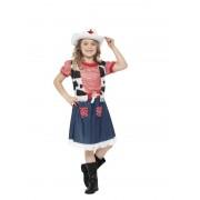 Costum Carnaval Copii Cowgirl Sweetie