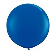 Balon Jumbo albastru 90 cm pentru petreceri, nunti, botezuri