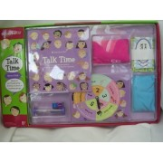 Talk Time Board Game ; Games to get the gab going - at home, at school or anywhere girls go!