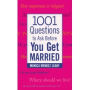 1,001 Questions to Ask Before You Get Married (Leahy Monica Mendez)(Paperback) (9780071438032)
