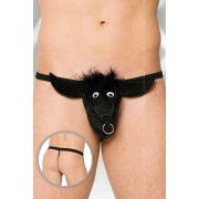Softline Bull G String Underwear Black 4437