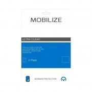 Mobilize Motorola Moto C Plus Screenprotector Plastic Duo Pack