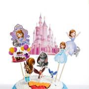 Scobitori Candy Bar cu Prinţesa Sofia (set 10 piese)