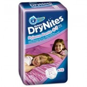 Drynites Huggie pañal 16 unidades 17-30 kg niña