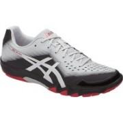Asics Gel-Blade 6 Badminton Shoes For Men(Black, Silver, Grey)