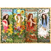 """The House of Puzzles 1000 Piece Jigsaw Puzzle - Four Seasons from Panmure Collection New July 2017"""""""