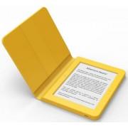 """E-Book Reader Bookeen SAGA, Ecran Multi-touch capacitive touchscreen E-Ink 6"""", Procesor 1GHz, 8GB Flash, Wi-Fi + Husa silicon inclusa (Galben)"""