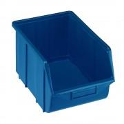 Sichtlagerkasten aus Polypropylen LxBxH 355 x 220 x 167 mm blau, VE 10 Stk