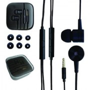 Portronics POR-765 Conch 204 (Red) In-Ear Stereo Headphone having 3.5mm Aux port In-Line high Quality mic Soft silicon