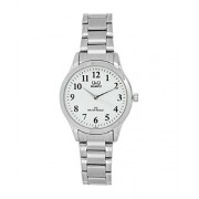 Q&Q Unisex Analog White Dial Women'S Watch -C168J204Y