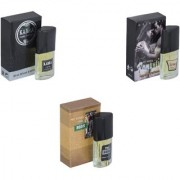Skyedventures Set of 3 Kabra Black-Romantic-The Boss Perfume