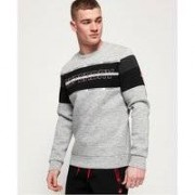 Superdry Gym Tech Cut rundhalsad sweatshirt