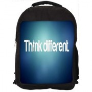 Think Different Digitally Printed Laptop Backpack