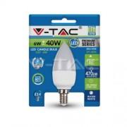 LED Bulb - 6W E14 Candle 3000K Blister Pack