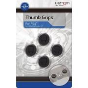 4Gamers Venom Thumb Grips Analog Stick Caps for Gamepad/Joystick 4 Pack PlayStation 4