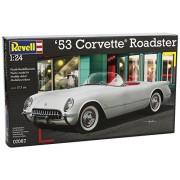 Revell Rv160 1:24 53 Corvette Roadster Sports Car Hobby Craft Model Kit Set
