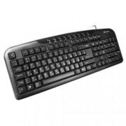 Клавиатура Canyon CNE-CKEY2, USB, кирилизирана, черен