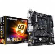 Tarjeta Madre GIGABYTE B450M DS3H AM4 DDR4 Micro ATX