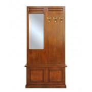 Arteferretto Garderobepaneel mit Truhe und Spiegel