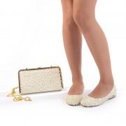 Pantofi de mireasa cu poseta inclusa Bianca (Marime: 38 EU)