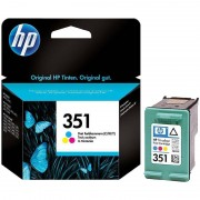HP Original Tintenpatrone CB337EE (No.351), color