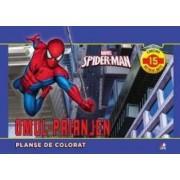 Marvel Spider-Man. Omul-Paianjen - Planse de colorat