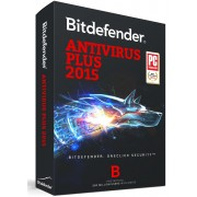 BitDefender AntiVirus Plus (2015) 1 PC/User 1 Year Activation License Key