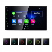 """Auna MVD-400 CP Radio de coche 7"""" Touchscreen 4x45W Android coche USB 2 DIN Negro"""