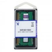 Kingston Memorija za prijenosna računala DDR3 4GB 1600MHz, KVR16S11S8/4