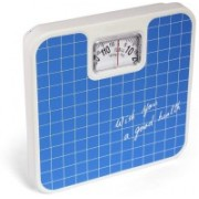 Rorian Analog Weight Machine Manual Mechanical Analog 9811(Blue) Weighing Scale(Check Blue)