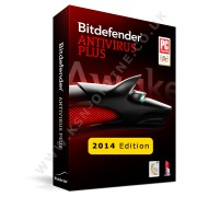 BitDefender AntiVirus Plus (2014) 3 PC/User 1 Year Retail DVD