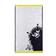 Finlayson Stinky handduk svart/vit/gul, finlayson