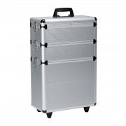 Sibel - Aluminium Kapperskoffer - 65x43x22 cm