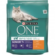 Purina One senior kip & volkoren granen
