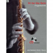 Universal Edition Fit for the Flute 1 mit CD Gisler-Haase, Querflöte