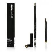 BrowFood Eco Precision 2 Tone Brow Pencil With Extra Refill - #Brunette 2x0.4g/0.014oz BrowFood Eco Precision 2 Цвята Молив за Вежди с Допълнителен Пълнител - #Brunette