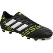 ADIDAS Nemeziz Messi 17.4 FXG Football Shoes For Men(Black, White, Yellow)