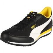 Puma Velocity Tetron Black & Yellow Men's Training Shoes