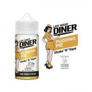 Lichid Late Night Diner - Pudding Pie 50ml