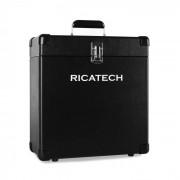 Ricatech RC0042 Maleta para discos 30 vinilos negro (659011)