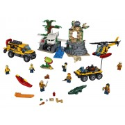 AMPLASAMENTUL DE EXPLOATARE DIN JUNGLA - LEGO® CITY (L60161)