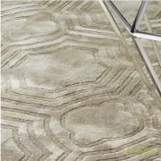 Covor elegant design LUX realizat manual, Harris 200x300cm sand 109753 HZ