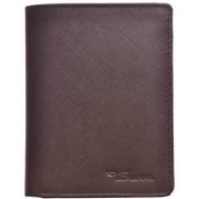 Tamanna Men Brown Genuine Leather Wallet (8 Card Slots)