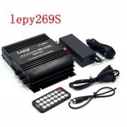 Lepy 269s Amplificador De Audio Con 4 Canales Altavoz Bluetooth US PLUG - Negro