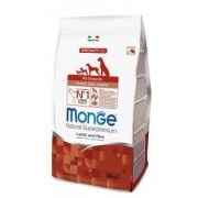 Monge All Breeds Puppy & Junior Agnello e Riso 800g