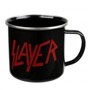 Slayer Zománc Bögre - Logo - EMUGSL1