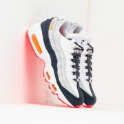 Nike Wmns Air Max 95 Midnight Navy/ Laser Orange-Pure Platinum