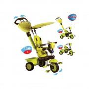 Triciclo Smart Trike Zoo rana verde