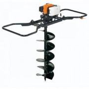 MTL 85R Oleo-Mac Foreza de pamant , putere motor 5.7 Cp , greutate 30.6 Kg , se folosesc burghie de diametru gaurire maxim 50 cm